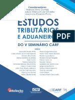 Estudos Tributários e Aduaneiros do V Seminiário CARF