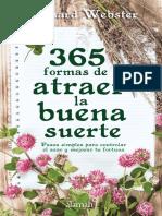 Vdocuments.mx 365 Formas de Atraer La Buena Suerte de Richard Webster Primer Capitulo