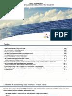 Ghidul Prosumatorului Care Comercializează Energie Electrică La Preţ Reglementat