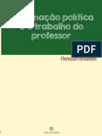 A formação política_trabalho_ professor_Florestan_Fernandes