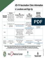 COVID 19 Vaccine Clinics Hawaii Island Resource Sheet
