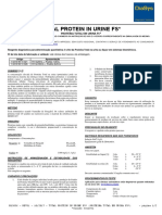 Bl3036 – Rev01 – 10 2017 Total Protein in Urine Fs Proteina Total Em Urina Fs