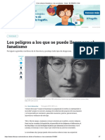 Cómo afecta el fanatismo a las sociedades - Salud - ELTIEMPO.COM