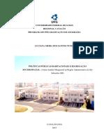 Dissertação - Luciana Meira Dos Santos Nunes - 2014 Magueiral