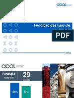 Fundição das ligas de alumínio - Palestra a distância 2020