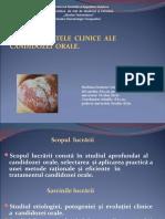 Aspectele Clinice Ale Candidozei Orale