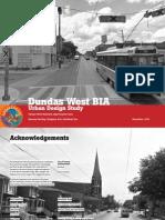 Dundas West BIA Urban Design Study