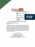 Procedimiento Sancionador  de CNHJ Morena contra Félix Salgado