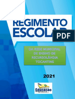 REGIMENTO ESCOLAR 2021