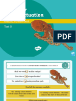 Year 3 Grammar and Punctuation Test 2