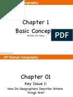 AP HuG Chapter-1-Slide Notes Basic Concepts