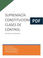 ACTIVIDAD 1 Supremacía Constitucional y Formas de Control Final