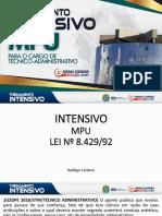 [IC]™Rodrigo Cardoso Treinamento Intensivo MPU
