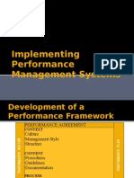 Implementing Performance Management System ,