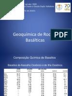 Aula 3 - Geoquímica de Basaltos 2020 PAE