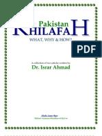 Khilafah in Pakistan - Dr. Israr Ahmad