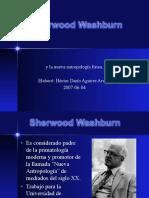 Sherwood Washburn Antropología física