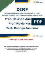 Apresentação DIRF 2.020