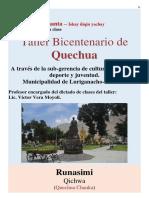 Taller Bicentenario Quechua_MANUAL_2da Clase_Libro de clase_S-1