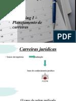 Mentoring I - Planejamento de carreiras (1)