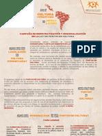 Campaña de Democratización y Regionalización de la Ley de Puntos de Cultura