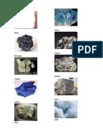 Elementos Minerales y Sus Imagenes