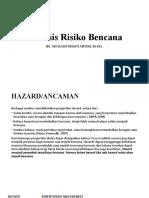 Analisis Risiko Bencana