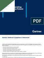 Gartner - The HR Operating model of the future
