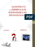 DIAGNOSTICO E INTERPRETACION RADIOGRAFICA 2015