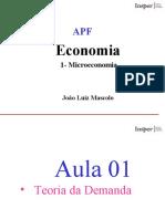 APF Microeconomia - Aula 1(1)