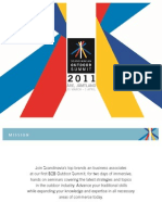 Scandinavian Outdoor Summit 2011 - Official Program and Speaker List