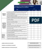 7- Formato No. 3 - Evaluación de la Práctica Pedagógica por Programa