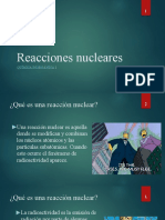 Reacciones Nucleares - Documento Extra