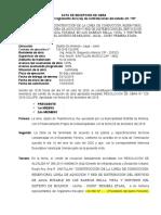 ACTA DE RECEPCION DE OBRA MDM