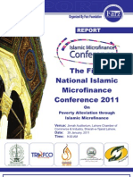 The First National Islamic Microfinance Conference Pakistan 2011 Report