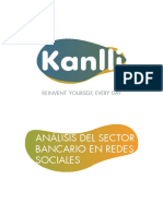 Analisis Del Sector Bancario en Redes Sociales