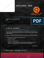 Montaje de Servidor Web en Ubuntu