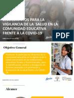 5.- LINEAMIENTOS PARA LA VIGILANCIA DE LA SALUD (1)
