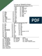 Список Деталей Для Т3