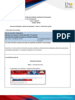 Activities guide and evaluation rubric - Unit 1 - Task 2 - Writing Production.en.es