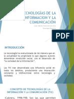 Las Tecnologías de La Informacion y La Comunicación