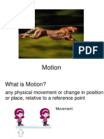Science 7 Describing Motion January 18,2021