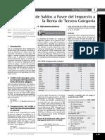 I Compensación de Saldos a Favor del Impuesto a la Renta de ... (1)