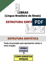 Libras Estrutura Sintatica