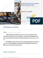 Global Rail Equipment Market Research Report 2021