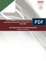Cuadernillo Metodología de la Investigación