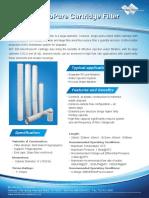600 MicroPure Cartridge Filter