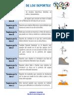PASAPALABRA DE LOS DEPORTES
