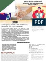 Boletin informativo COVID-19