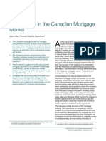 Competition in the Canadian Mortgage Market